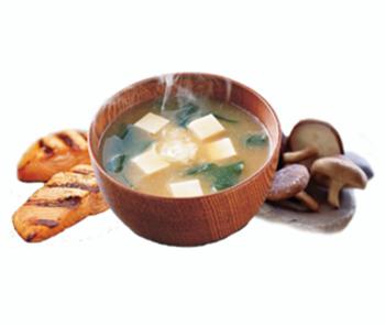 Zupa Misoshiru z grilowanym Łososiem