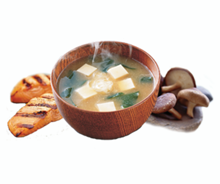 Zupa Misoshiru z grzybami Shiitake